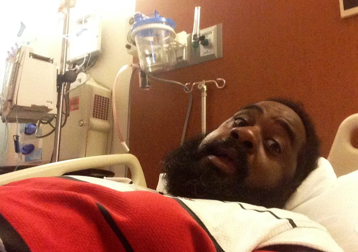 Cancerwise blog post: Damion Smith reflects on his throat cancer treatment