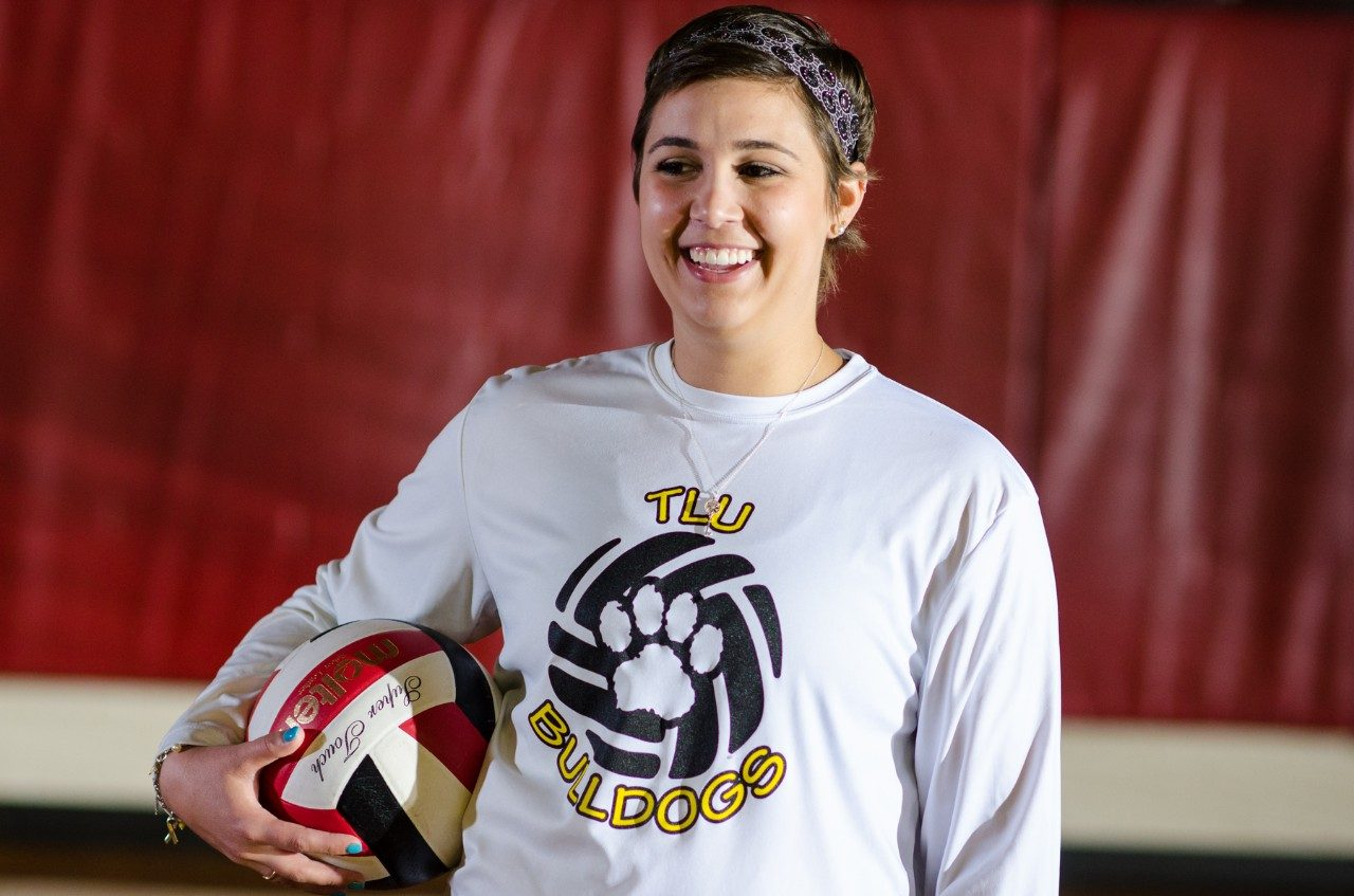 Patients like volleyball player Jillian Williams benefit from MD Anderson's Orthopedic Oncology department