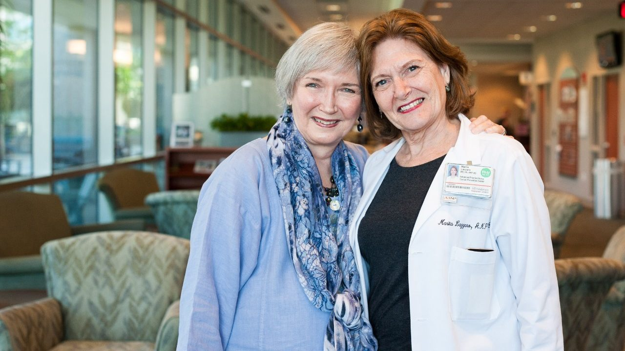 Cancerwise blog post: Survivor seeks lung cancer treatment after screening at MD Anderson helps spot lung cancer