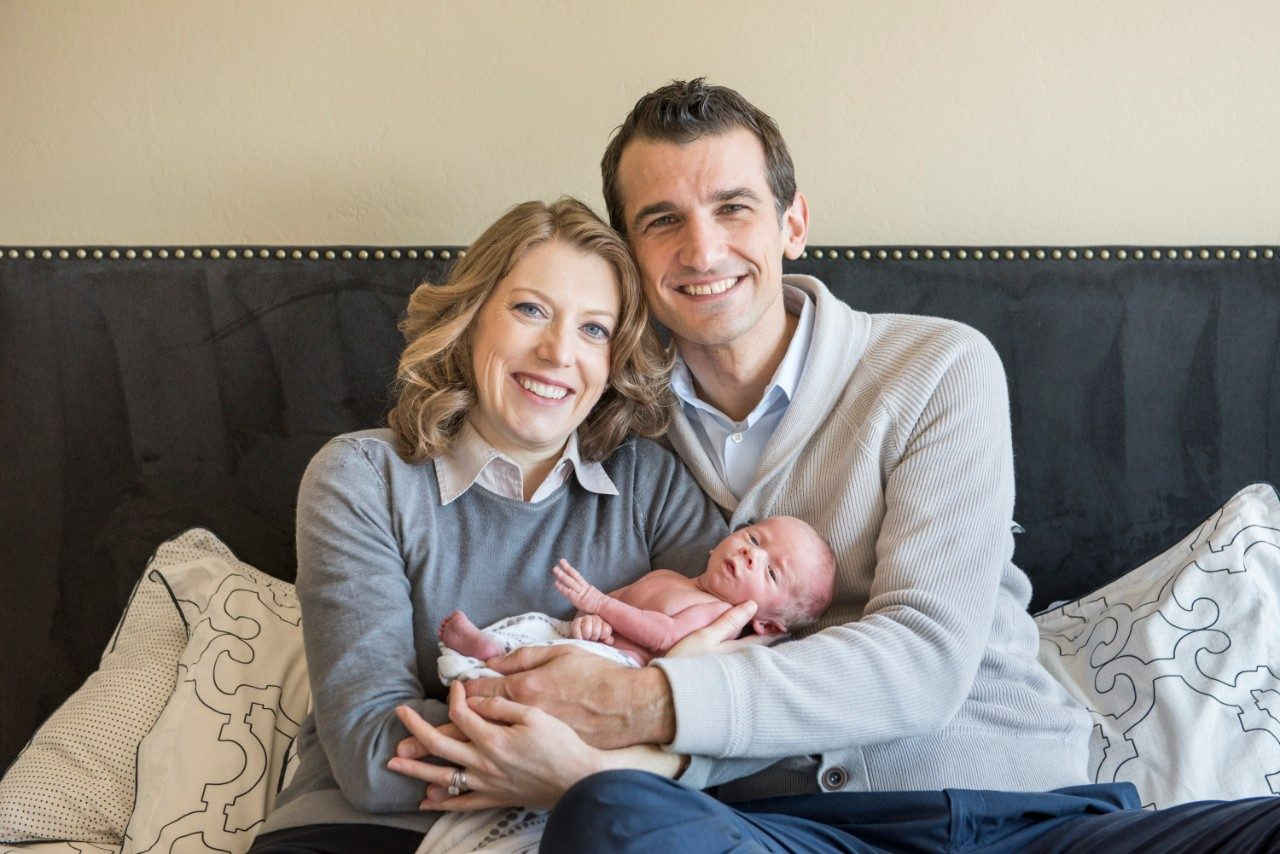 Cancerwise blog post: Allison Pozzi with her husband Tomaso and their son, Carlo