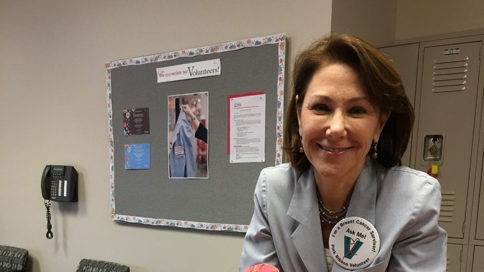 Cancerwise blog post: Breast cancer survivor taps into MD Anderson's support for cancer patients