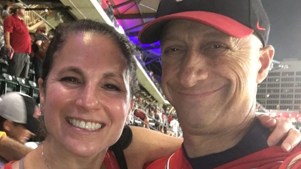 Cancerwise blog post: Gary Rudman and his wife Robin, stem cell transplant, multiple myeloma