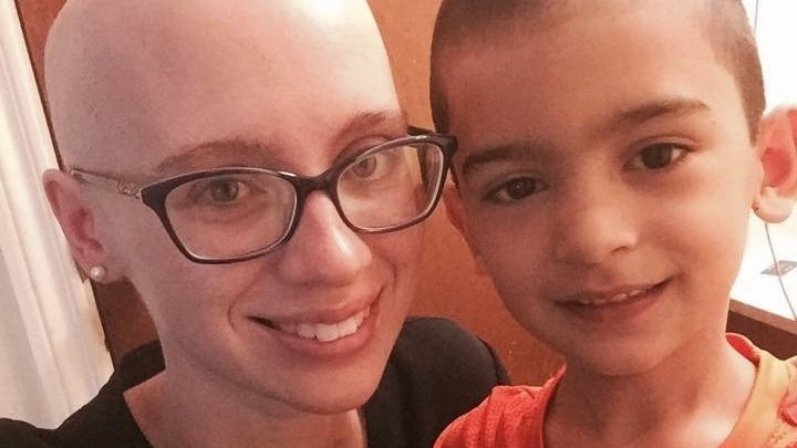 Cancerwise blog post: Ashley and Brayden Rivera, breast cancer