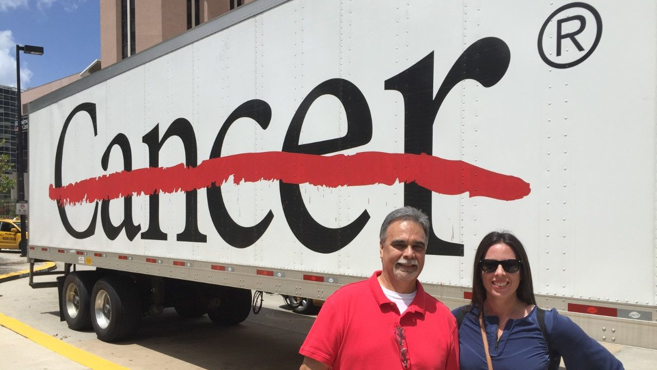 Cancerwise blog post: Kidney cancer caregiver shares favorite spots at and around MD Anderson