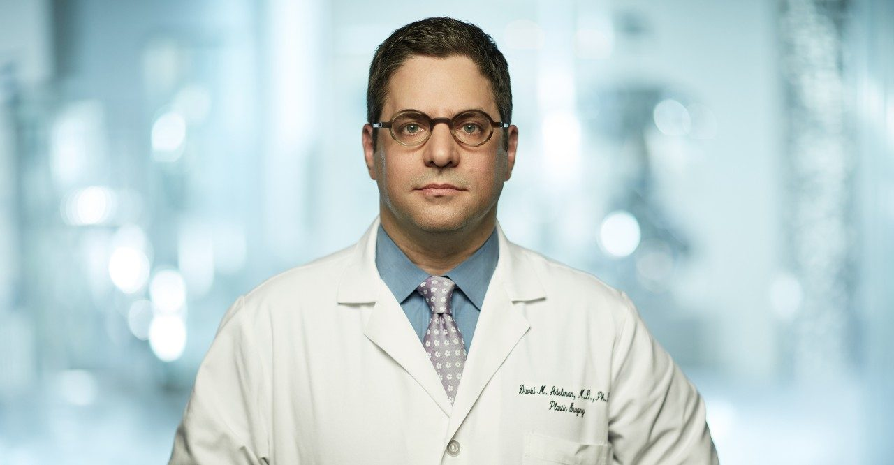 Breast cancer plastic surgeon David M. Adelman, M.D., Ph.D.