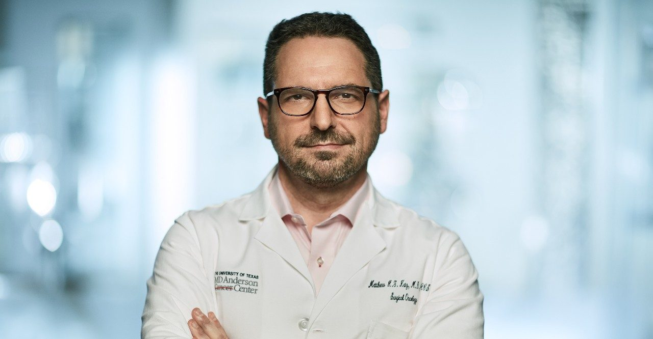 Pancreatic cancer specialist Matthew H.G. Katz, M.D.