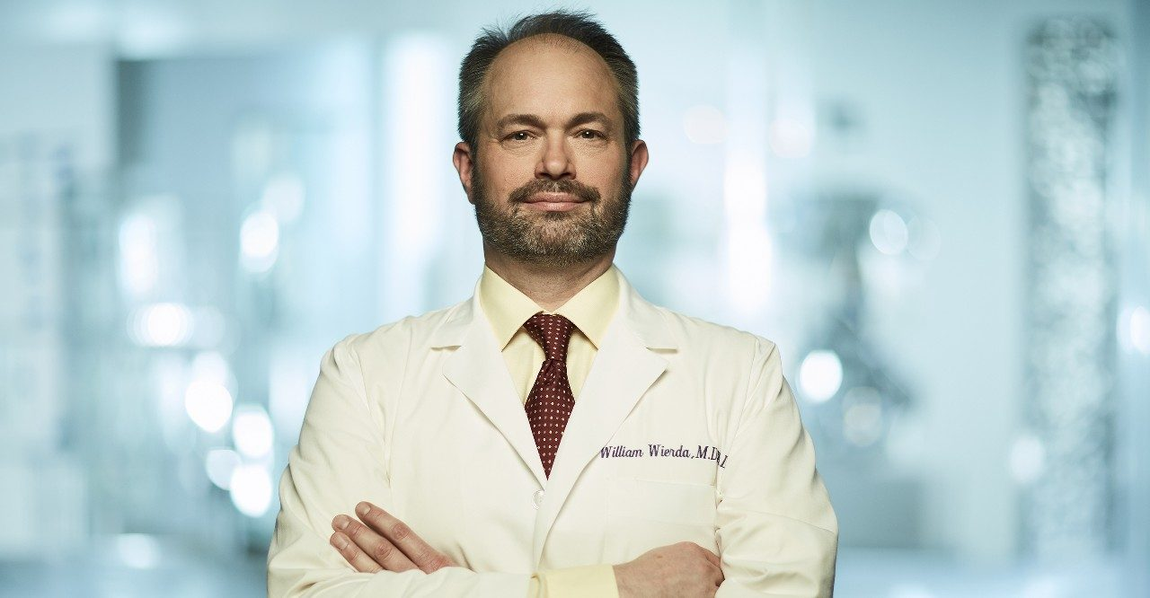 Leukemia specialist William Wierda, M.D., Ph.D.