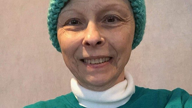 Ovarian cancer survivor Dana McKay