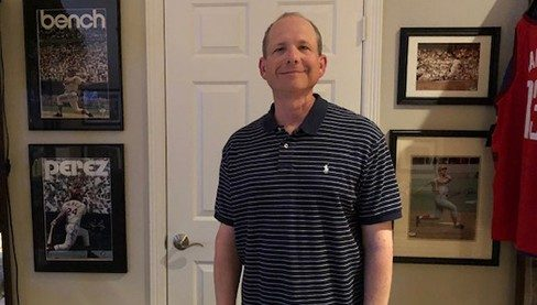 HPV-related tonsil cancer survivor Jeff Deatsman