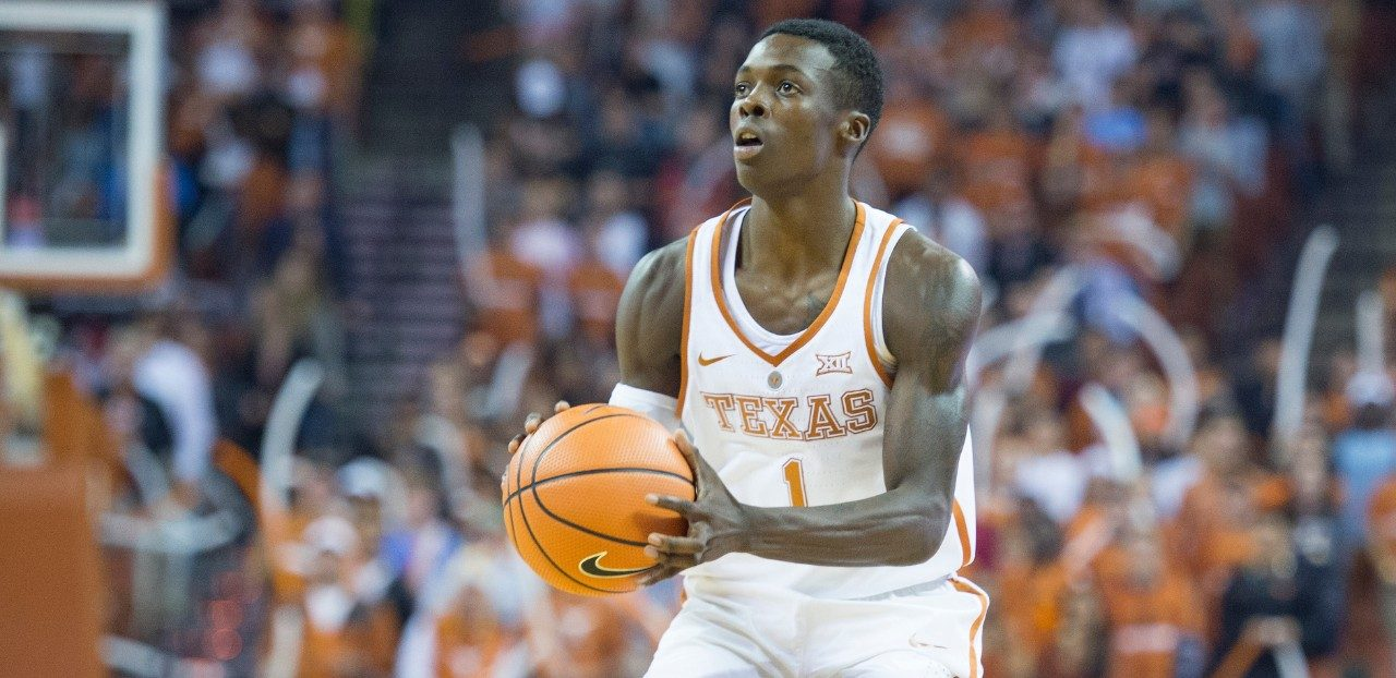 Leukemia survivor and The University of Texas college basketball player Andrew Jones