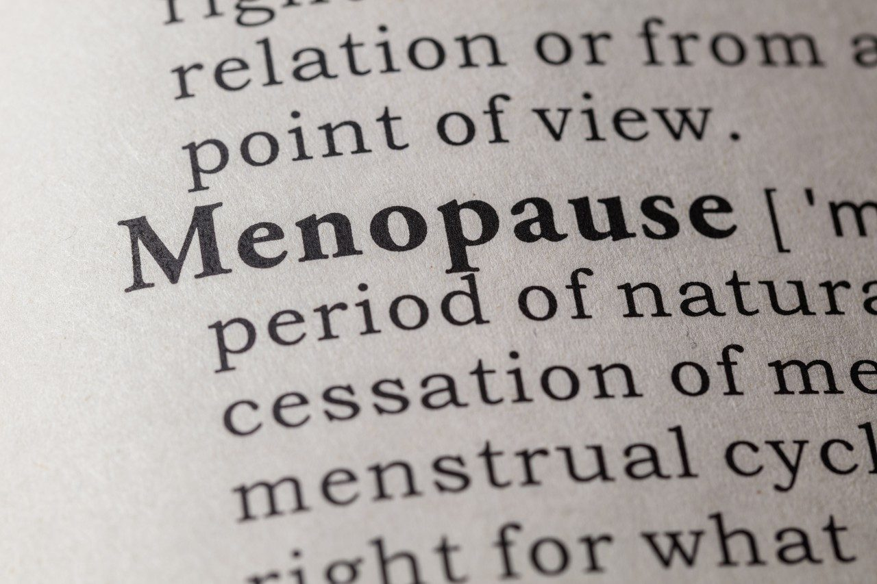 Menopause definition in dictionary
