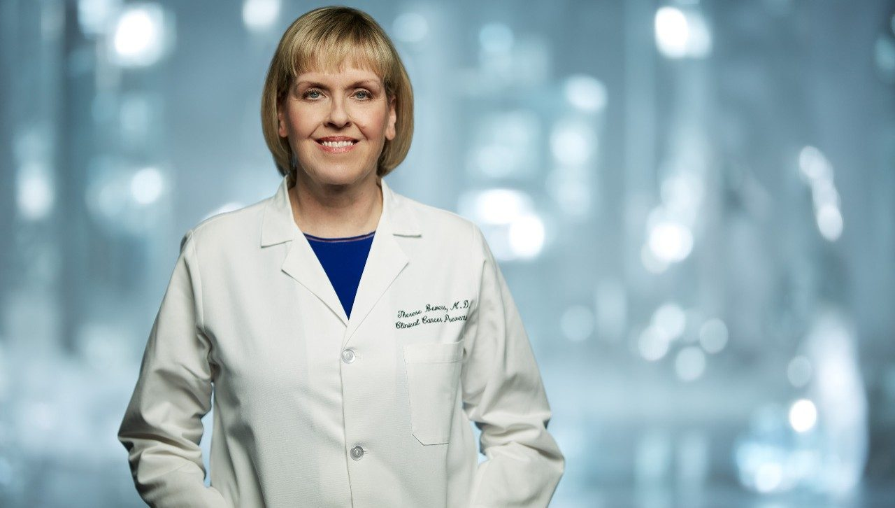 Therese Bevers, M.D., medical director of MD Anderson's Cancer Prevention Center