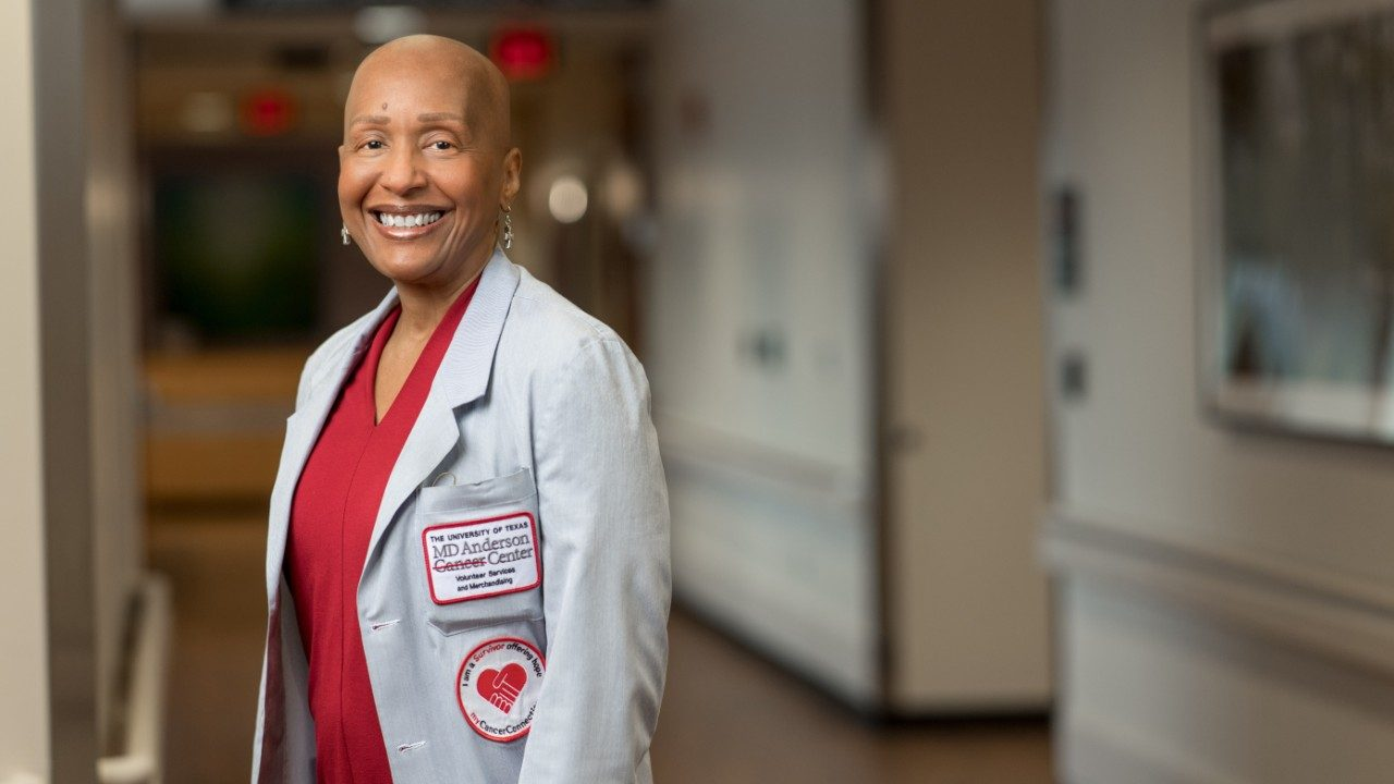 Breast cancer survivor and MD Anderson volunteer Constance Porter, Ph.D.