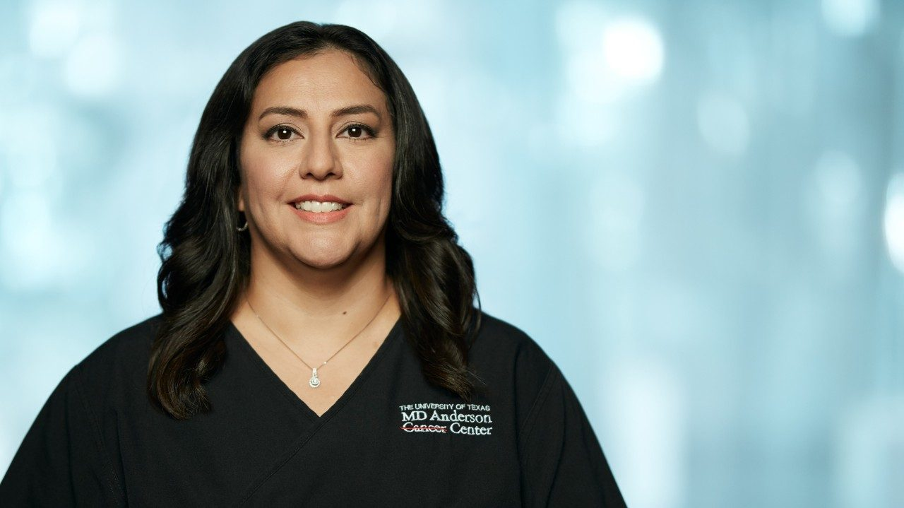 MD Anderson League City nurse navigator and breast cancer specialist Diana Vasquez