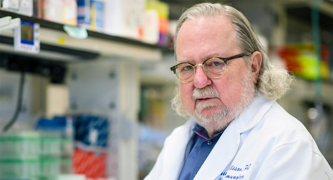 immunotherapy pioneer Jim Allison, Ph.D.