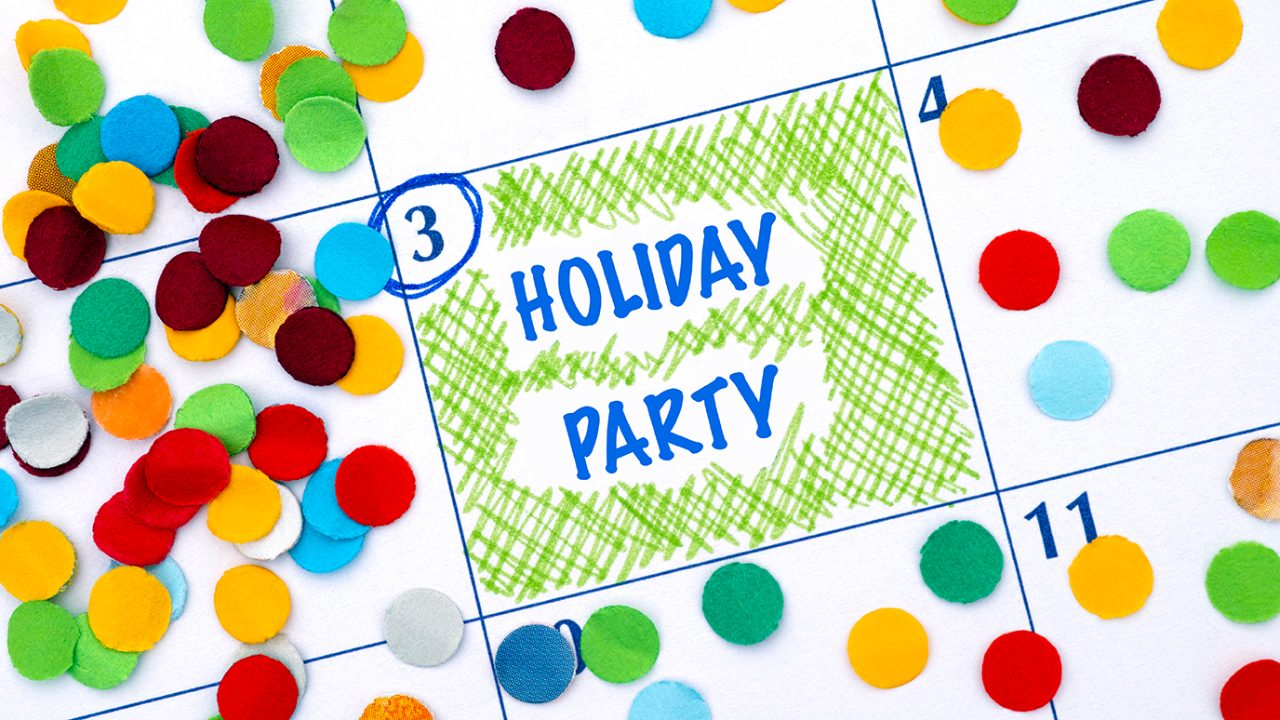 Calendar highlights day of holiday party