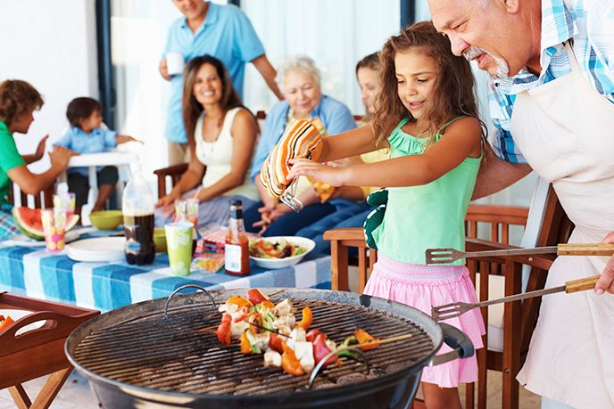 Updating your barbecue techniques with four simple grilling tips can go a long way in preventing cancer, says Sally Scroggs, health education manager at MD Anderson's Cancer Prevention Center.