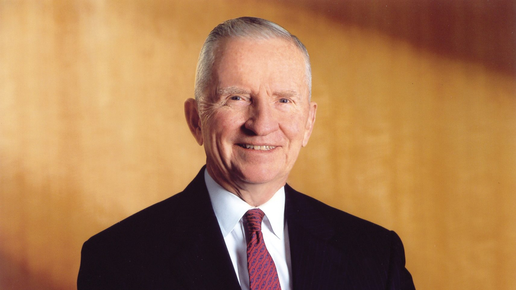 H. Ross Perot is investing in MD Anderson's efforts to make personalized cancer therapy a reality. Photo courtesy of H. Ross Perot.