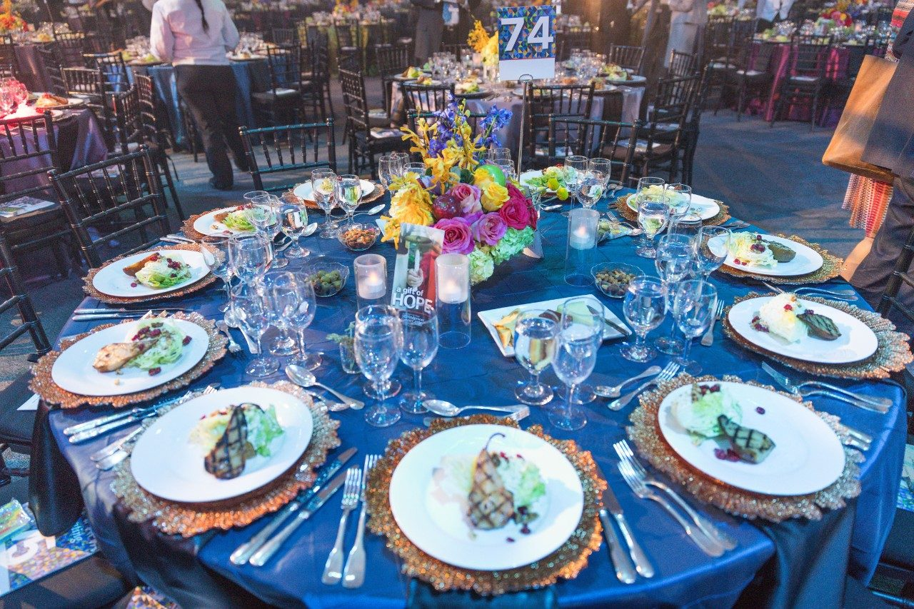 MD Anderson's 75th anniversary gala on Nov. 10 raised $14 million and drew 2,000 guests for a star-studded dinner and remarks by UT System Chancellor Bill Mcraven; James A. Baker, III; Craig Sager; the Cogdill family; and Vice President Joe Biden, leader of the White House Cancer Moonshot.