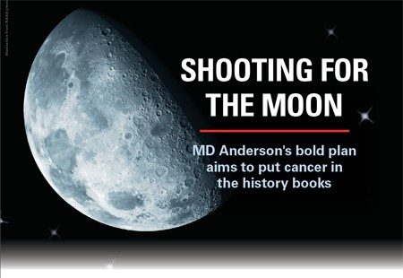 MD Anderson's Moon Shots Program™ is a comprehensive, accelerated effort to significantly reduce cancer deaths and transform cancer care.