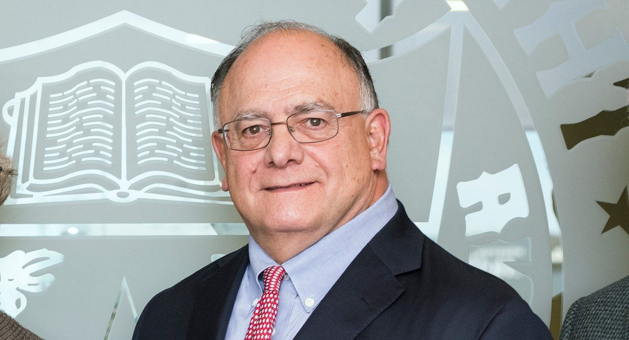 Vice chair of the MD Anderson Cancer Center Board of Visitors, Clarence P. Cazalot Jr. of Houston