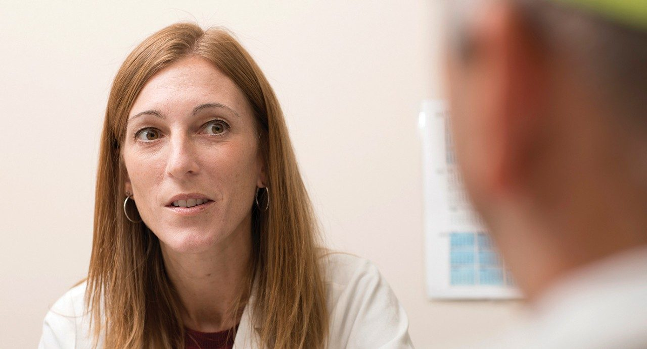MD Anderson researcher and associate professor of Leukemia, Courtney DiNardo, M.D.
