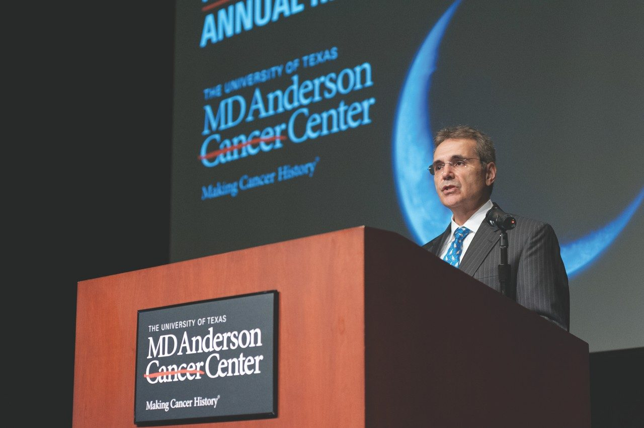 MD Anderson salutes Ronald DePinho, M.D., in gratitude for his service as the institution's fourth full-time president.