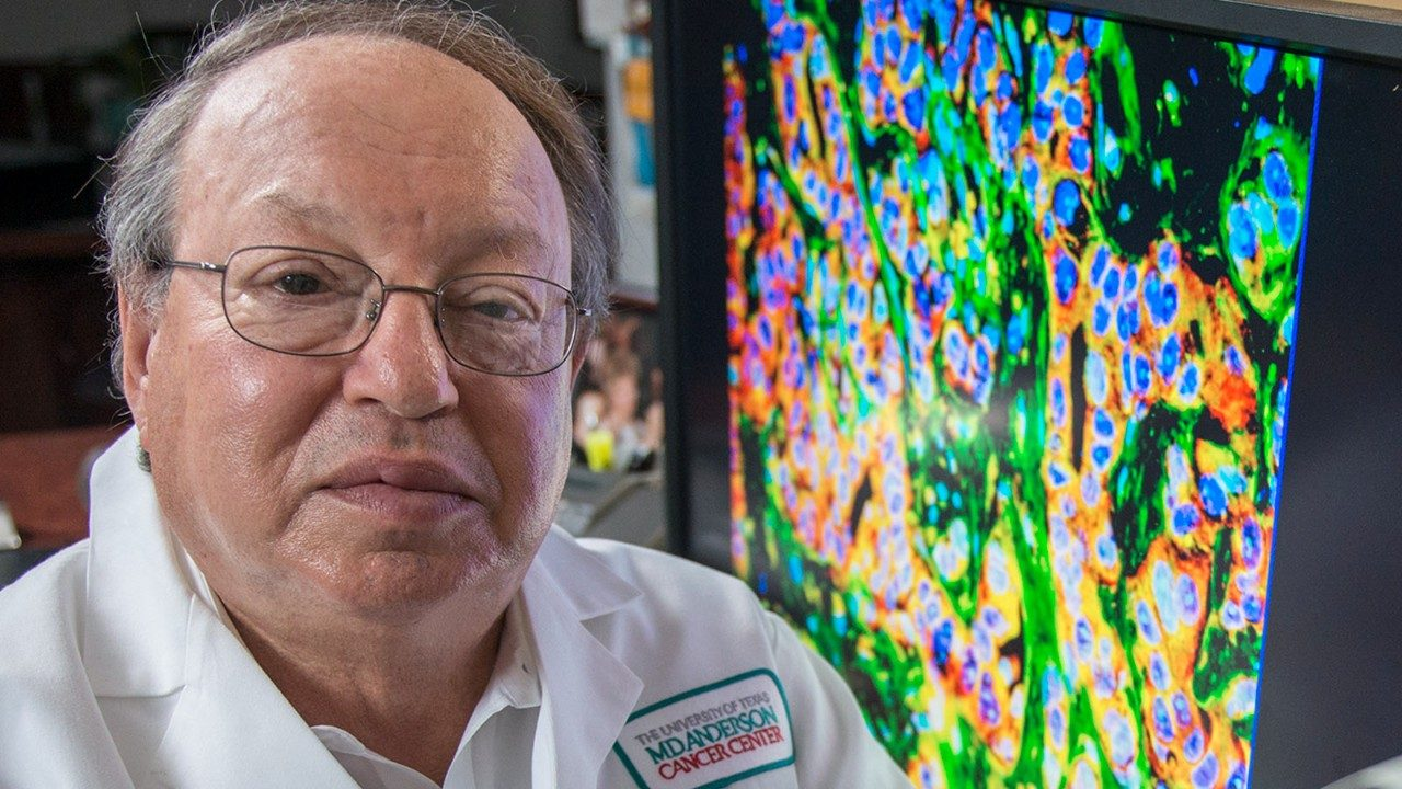 MD Anderson's Isaiah Fidler, D.V.M., Ph.D., professor of Cancer Biology and a pioneer in metastasis research, received the 2018 Margaret Foti Award for Leadership and Extraordinary Achievements in Cancer Research in April at the annual meeting of the American Association for Cancer Research (AACR)