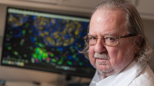 •	Jim Allison, PH.D., chair of Immunology, has received the Jessie Stevenson Kovalenko Medal of the National Academy of Sciences (NAS) in honor of his pioneering research in cancer immunotherapy.