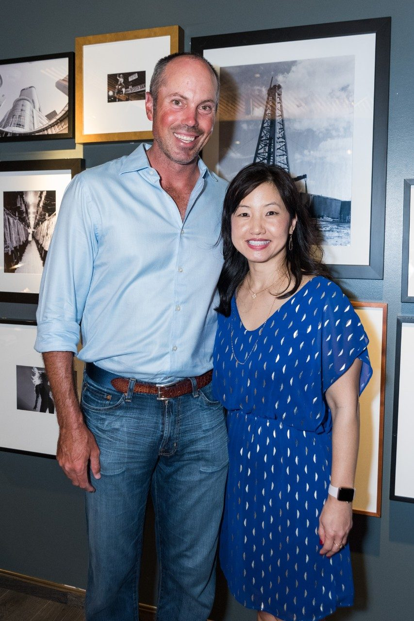 PGA TOUR player Matt Kuchar and Susan Chon, M.D., pause for a photo. Photo by Adolfo Chavez III