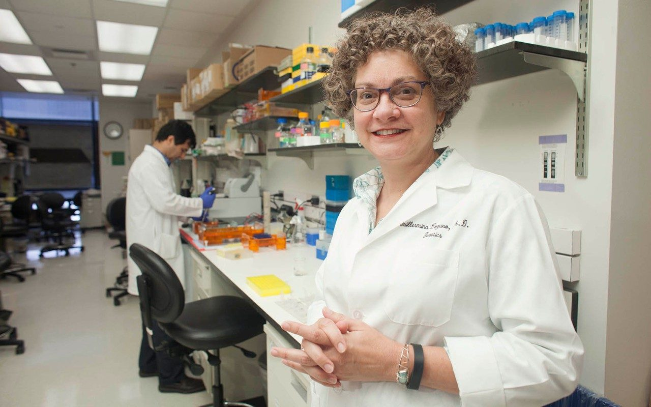 Guillermina Lozano, Ph.D., chair of Genetics at The University of Texas MD Anderson Cancer Center
