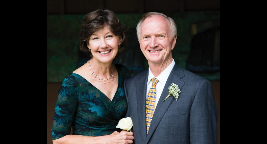 Sidney and her husband Don Childress, a survivor of head neck cancer, donated $250,000 toward head and neck cancer research at MD Anderson. Don's doctor, Heath Skinner, M.D., Ph.D., assistant professor, Radiation Oncology, oversaw Don's successful treatment.
