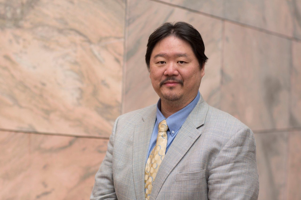 Peter Hu, Ph.D., associate professor, School of Health Professions, MD Anderson. Photo by F. Carter Smith.