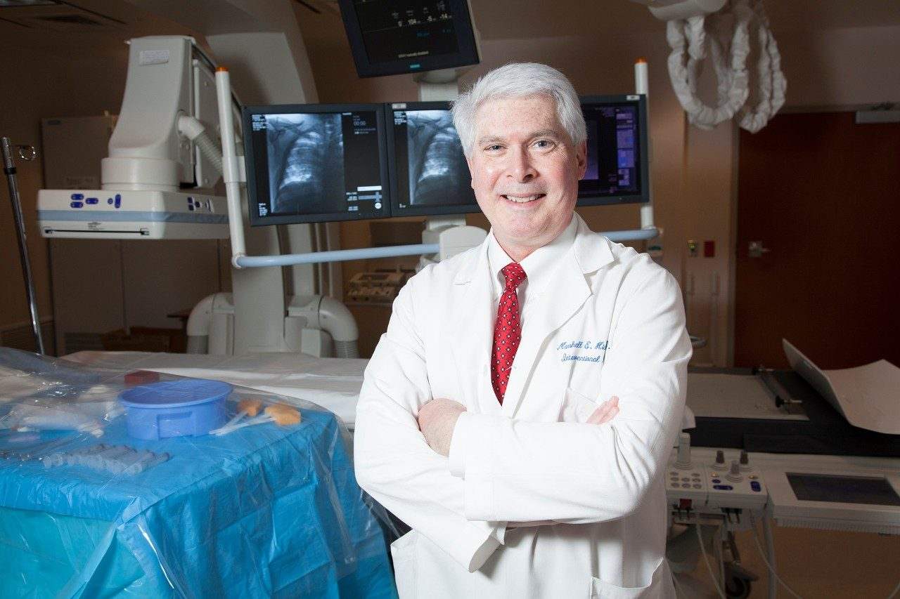 As MD Anderson Cancer Center's president ad interim for eight months in 2017, Marshall E. Hicks, M.D., worked with colleagues to strengthen MD Anderson's finances, develop a team-based culture and ensure the best care for patients and employees during Hurricane Harvey.