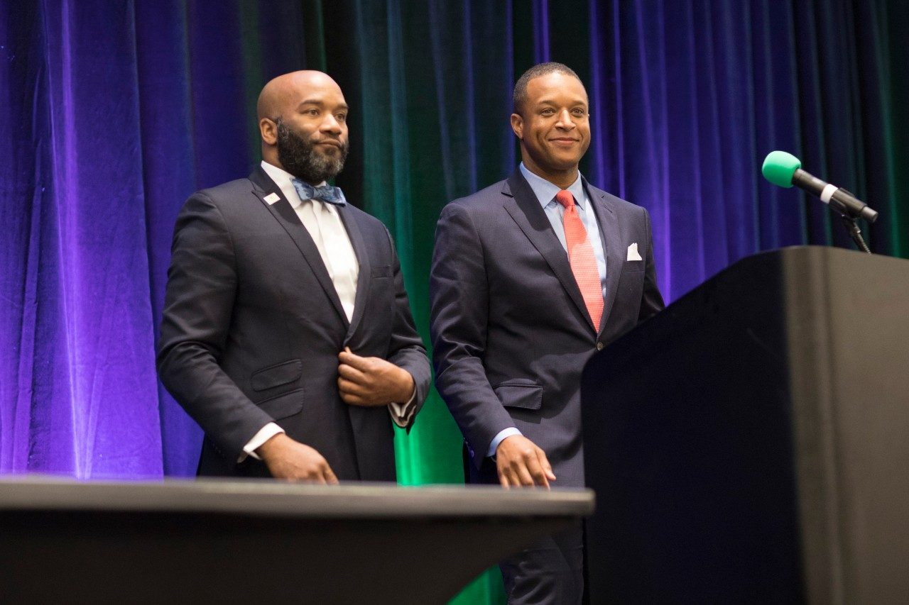 "MD Anderson Cancer Center hosts its annual Survivorship conference for cancer survivors and caregivers, with keynote from NBC-TV's ""Weekend Today"" co-anchor Craig Melvin and his brother, Rev. Lawrence Meadows, a stage IV colorectal cancer survivor."