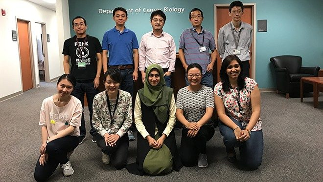 2017 Hu Laboratory group photo