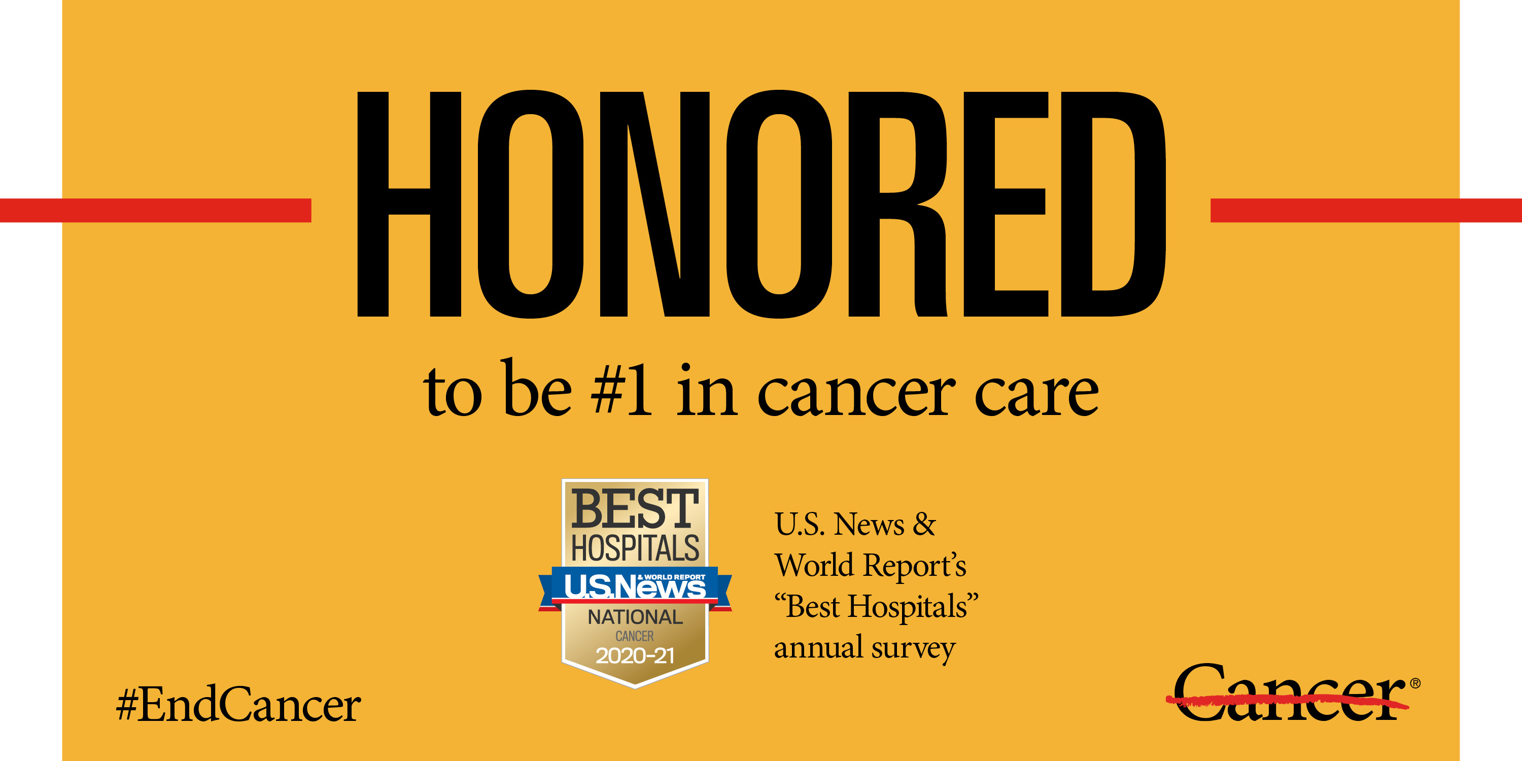 Md Anderson Honored To Rank As Nation S Best Hospital For Cancer Care Md Anderson Cancer Center