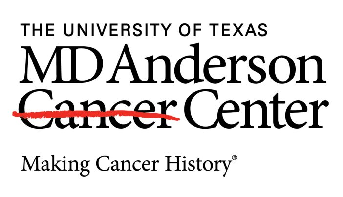 New Logo Features Strike Through Cancer | MD Anderson Cancer Center