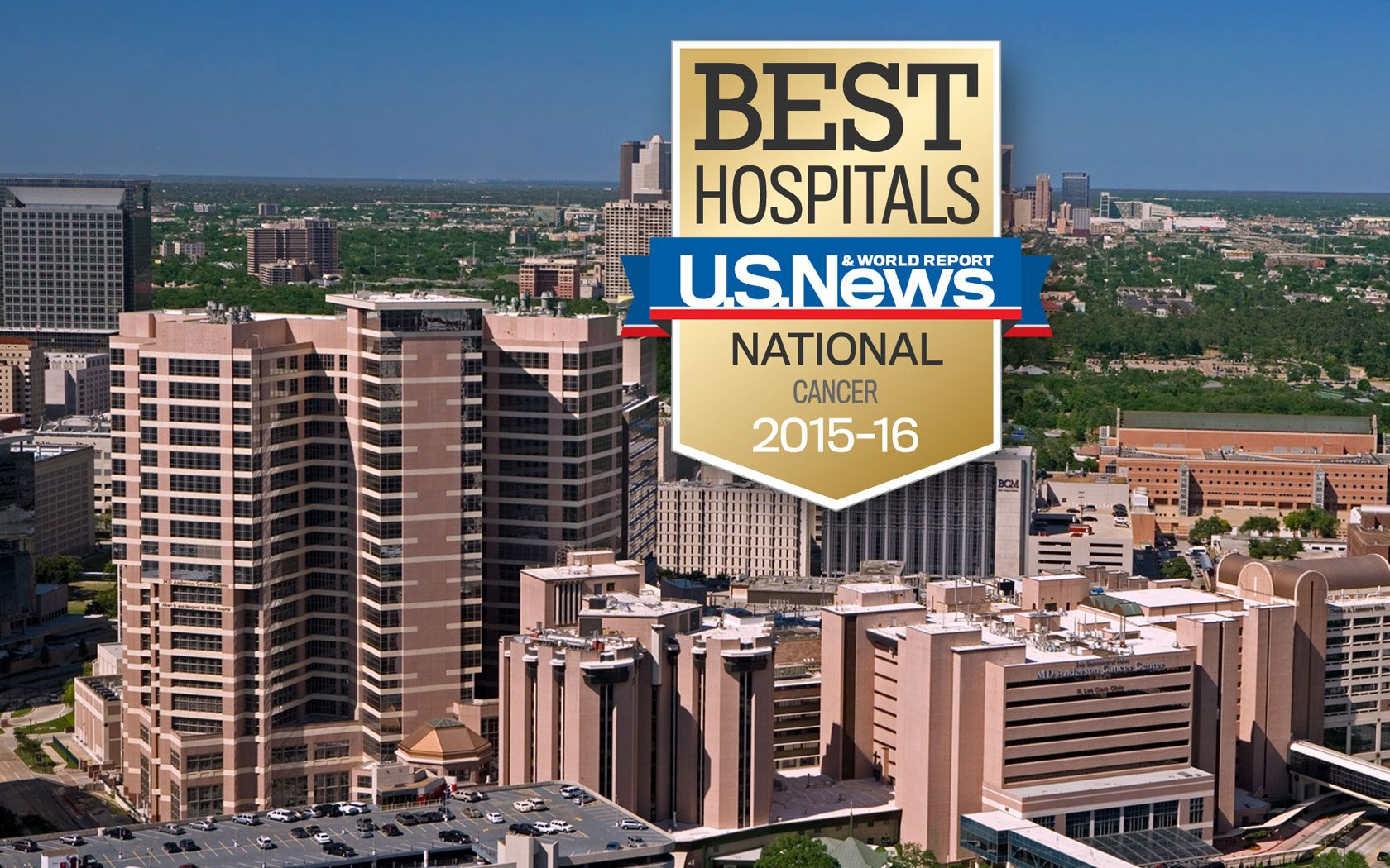 MD Anderson named the top cancer hospital | MD Anderson Cancer Center