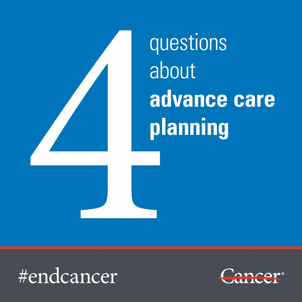 4 questions about advance care planning, answered | MD Anderson Cancer  Center