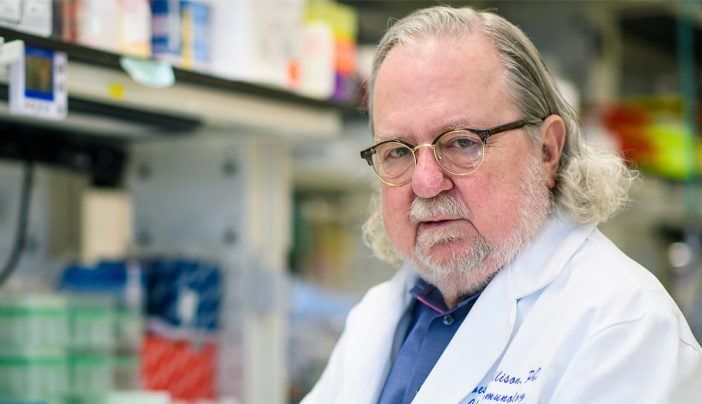Pioneering cancer immunotherapy researcher Jim Allison's